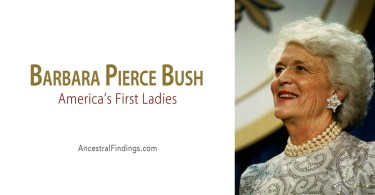 America's First Ladies, #41: Barbara Pierce Bush