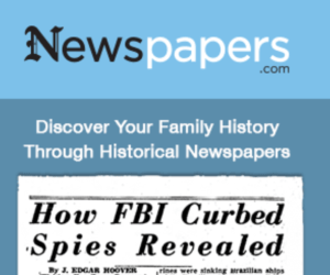 Search Historical Newspapers