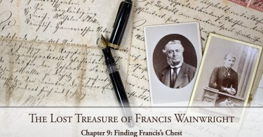 The Lost Treasure of Francis Wainwright: Chapter 9: Finding Francis's Chest