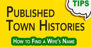 Published Town or County Histories   Genealogy Clips   GC-066