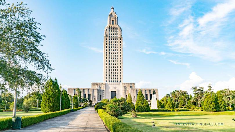 The State Capitals: Louisiana