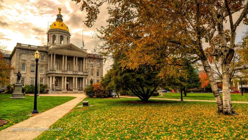 The State Capitals: New Hampshire