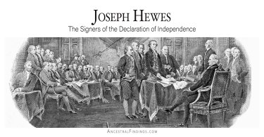 Joseph Hewes: The Signers of the Declaration of Independence