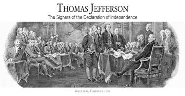 Thomas Jefferson: The Signers of the Declaration of Independence