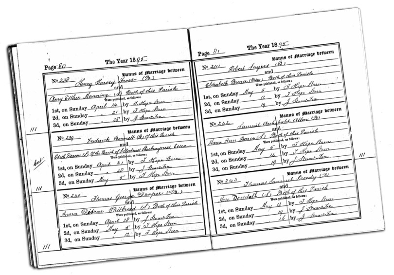 A Closer Look at Marriage Records #3