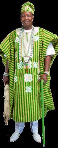 OLUWO FASOLA FANIYI - ceo ancestral pride temple limited