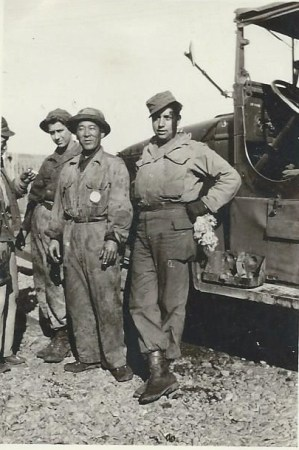 WWII dad and workers
