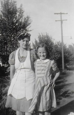 Jubie and Mrs. Christensen