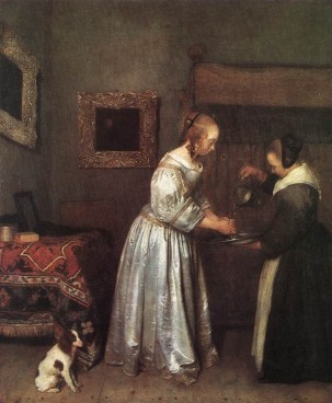 Mujer lavandose las manos