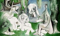 Le déjeuner sur l'herbe (Picasso) 3