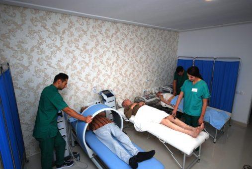 Sală ultrasunete Centrul Sfântul Sava