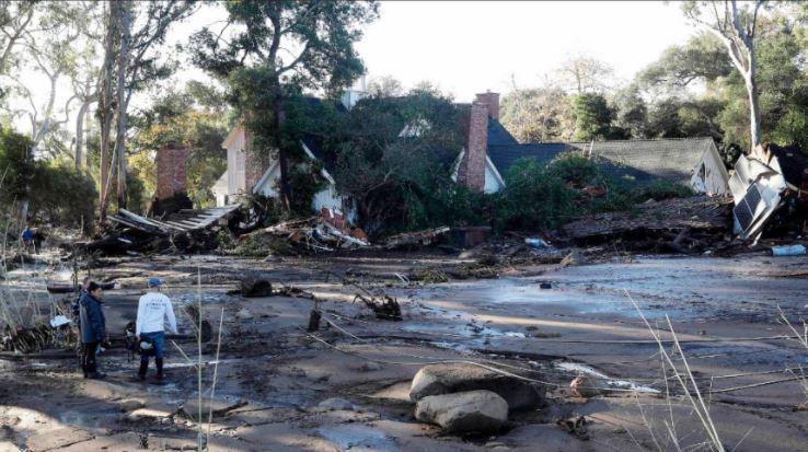 7 hospitalized 1 week after deadly California mudslides