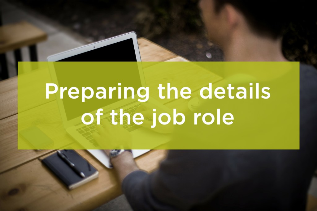 preparing-the-details-of-the-job-role