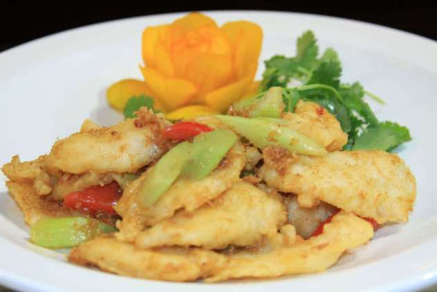 XO Sautéed Fish with XO Sauce