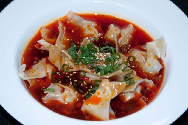 Wonton in Chili Oil