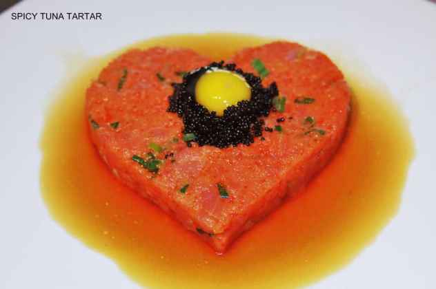 spicy tuna tartar