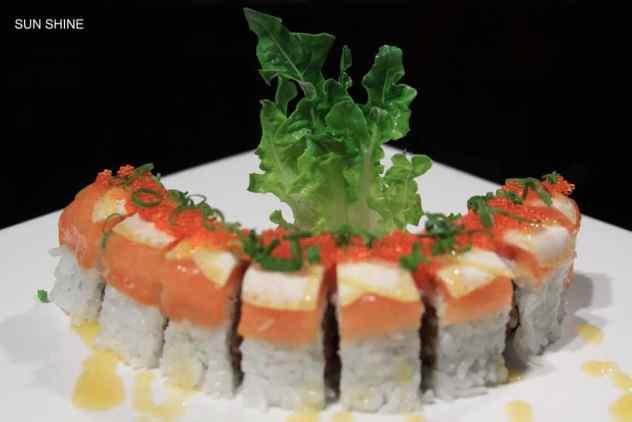 sunshine sushi roll