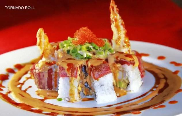 tornado sushi roll