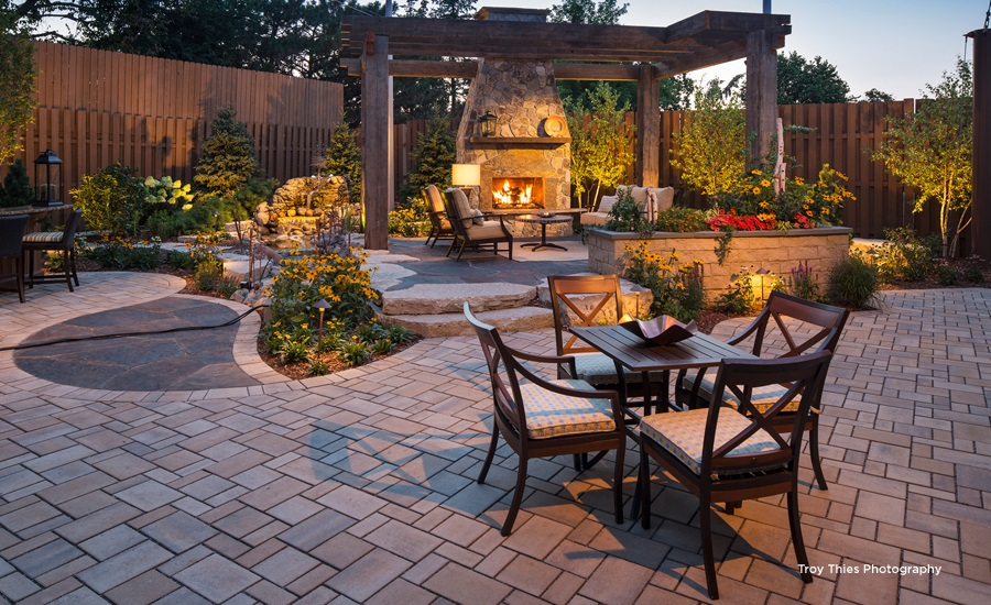 Landscaping | Anchor Block Company on Backyard Renovation Companies id=14650