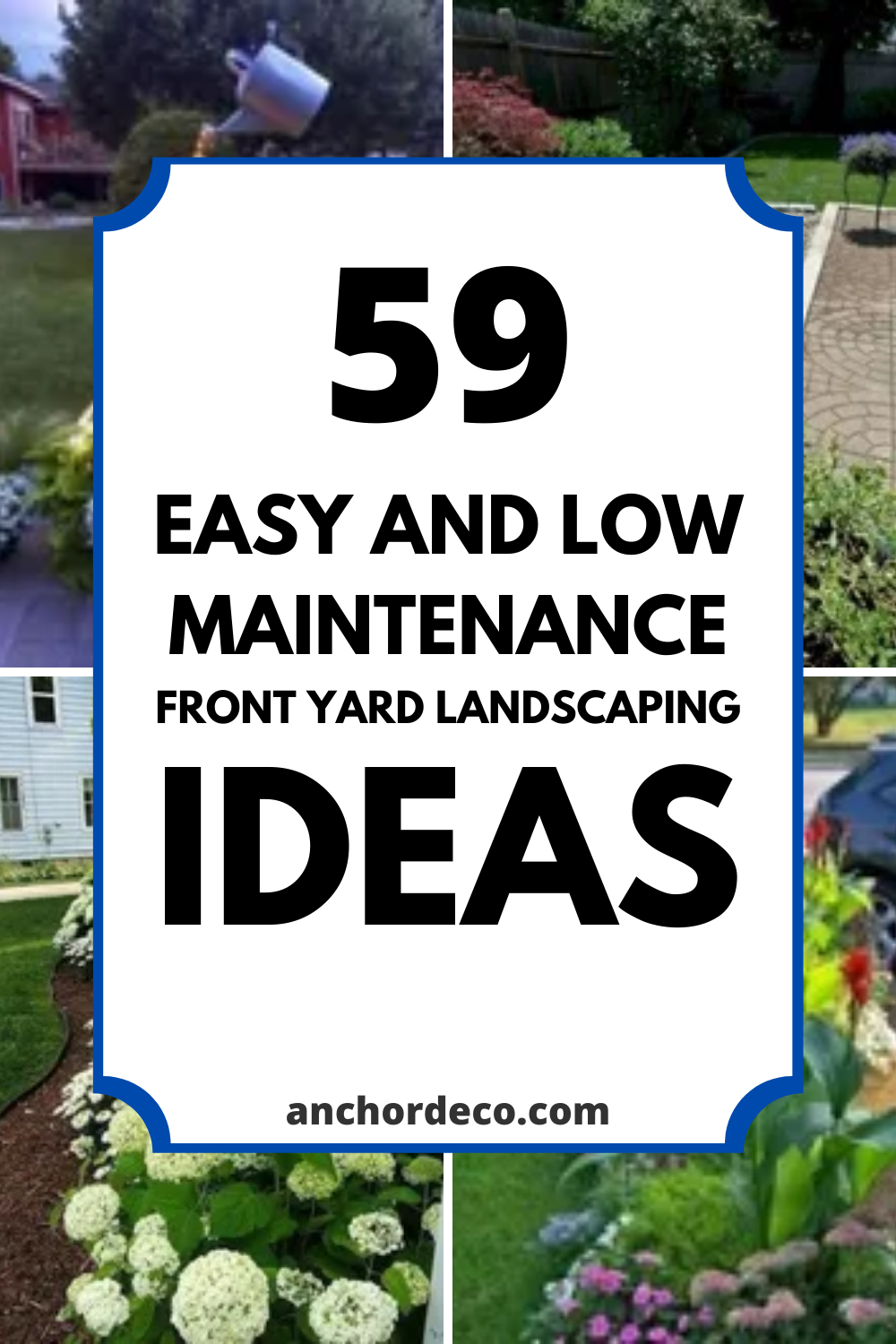21 Easy And Low Maintenance Front Yard Landscaping Ideas