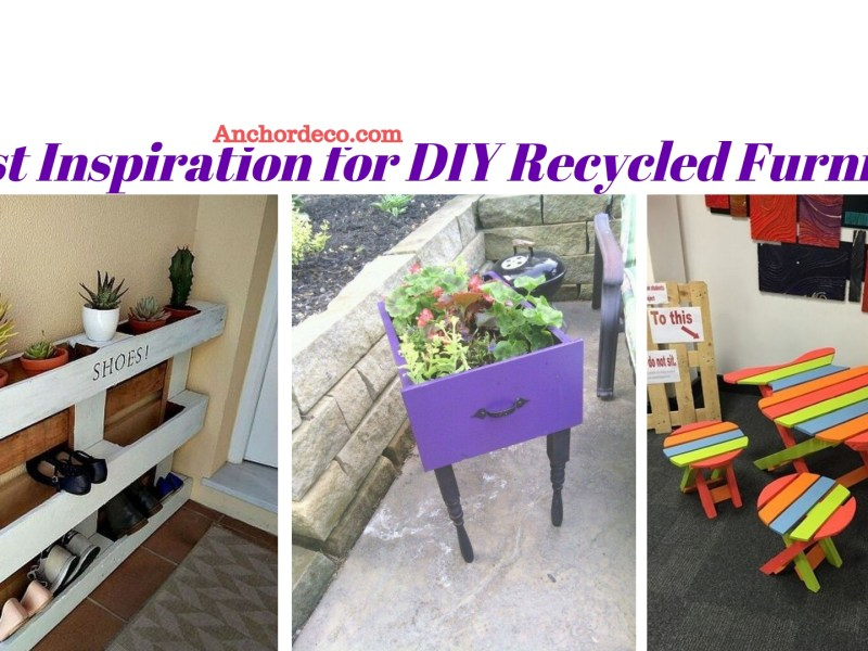51 Best Inspiration for DIY Recycled Furniture ...