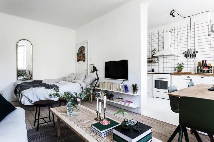 Amazing Ideas Decorating Studio Apartment 09
