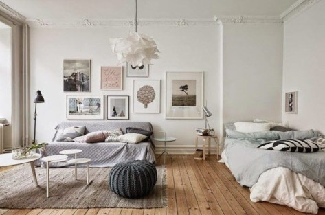 Amazing Ideas Decorating Studio Apartment 37