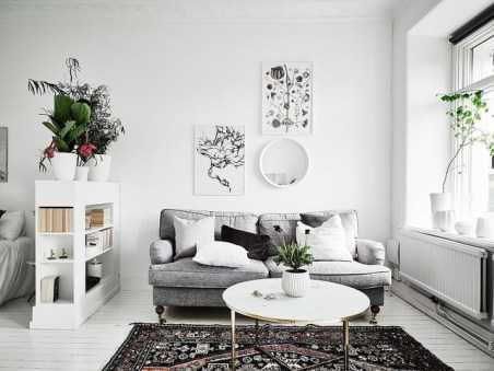 Amazing Ideas Decorating Studio Apartment 40