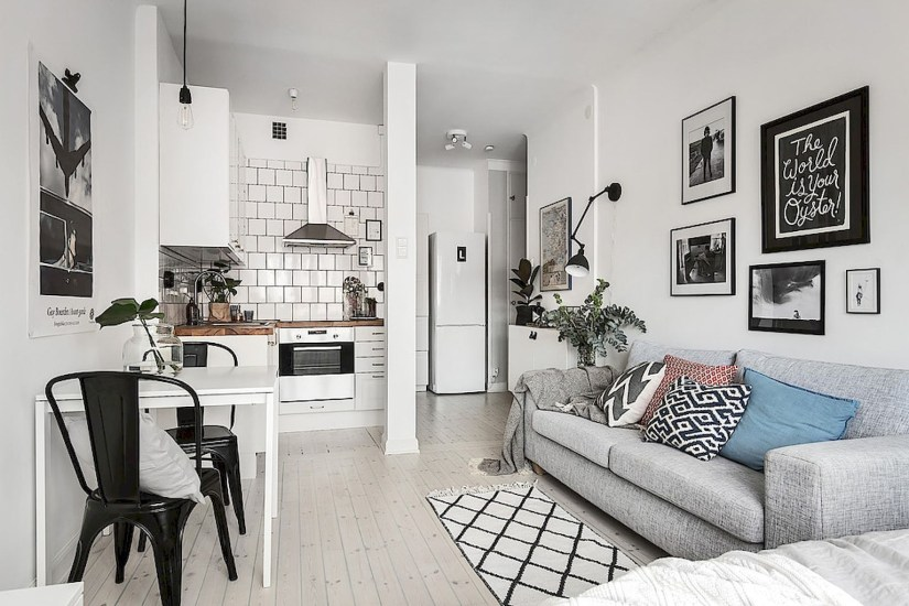 Amazing Ideas Decorating Studio Apartment 42