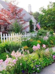 Beautiful Flower Garden for Your Front Yard 12
