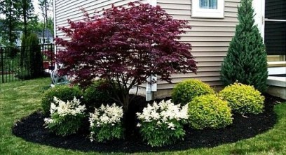 Beautiful Flower Garden for Your Front Yard 29