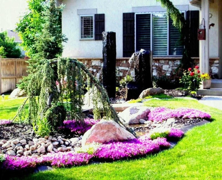 Beautiful Flower Garden for Your Front Yard 52