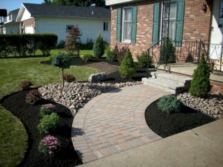 Beautiful Front Yard Landscaping Ideas On A Budget 57