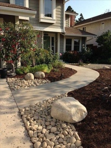 Beautiful Front Yard Landscaping Ideas On A Budget 81