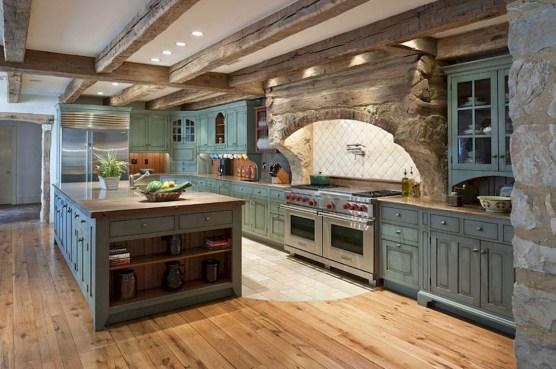 Best DIY Farmhouse Kitchen Decorating Ideas 08