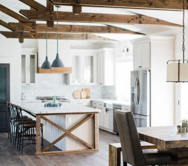 Best DIY Farmhouse Kitchen Decorating Ideas 16