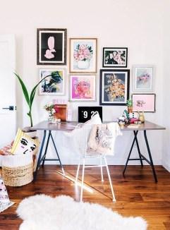 Bohemian Office Decor Inspiration 01