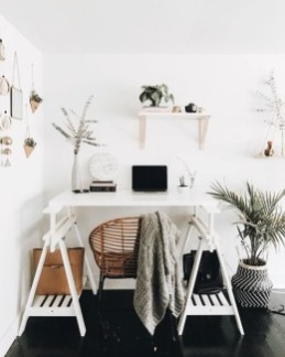 Bohemian Office Decor Inspiration 22