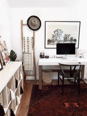 Bohemian Office Decor Inspiration 34