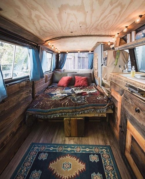 Brilliant Camper Van Conversion for Perfect Outdoor Experience 13