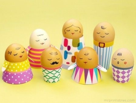Brilliant DIY Egg Decorating Ideas 20