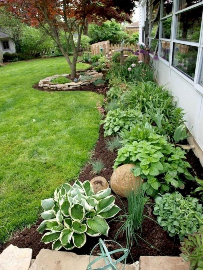 Cheap Front Yard Landscaping Ideas 21