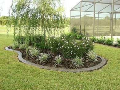 Clever & Beautiful Yard Island Landscaping for Backyard and Front yard 07