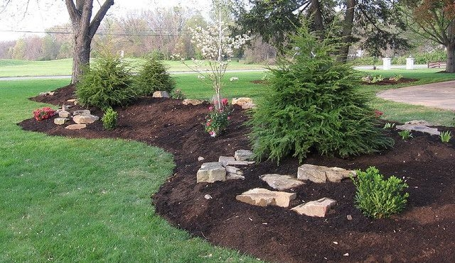 Clever & Beautiful Yard Island Landscaping for Backyard and Front yard 16