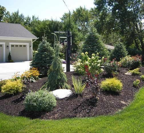Clever & Beautiful Yard Island Landscaping for Backyard and Front yard 25