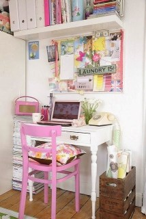 Clever and Creative Decorating Ideas for Small Home 28