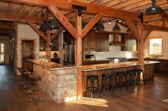 Cozy DIY for Rustic Kitchen Ideas 20