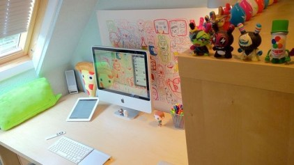 Cubicle Workspace Decorating Ideas 03