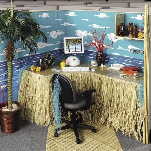 Cubicle Workspace Decorating Ideas 27
