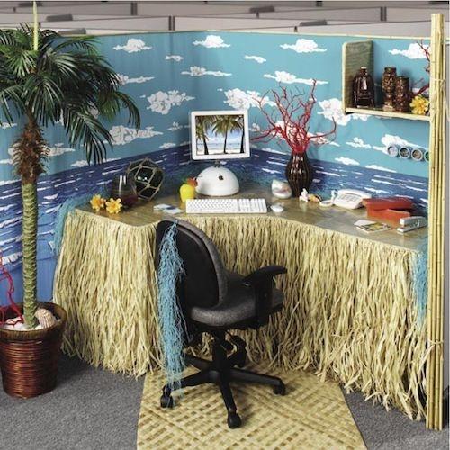 Cubicle Workspace Decorating Ideas 27